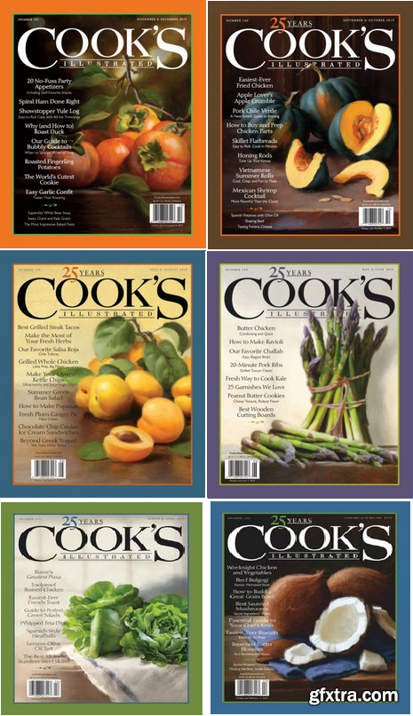 Cook\'s Illustrated - 2019 Full Year Issues Collection