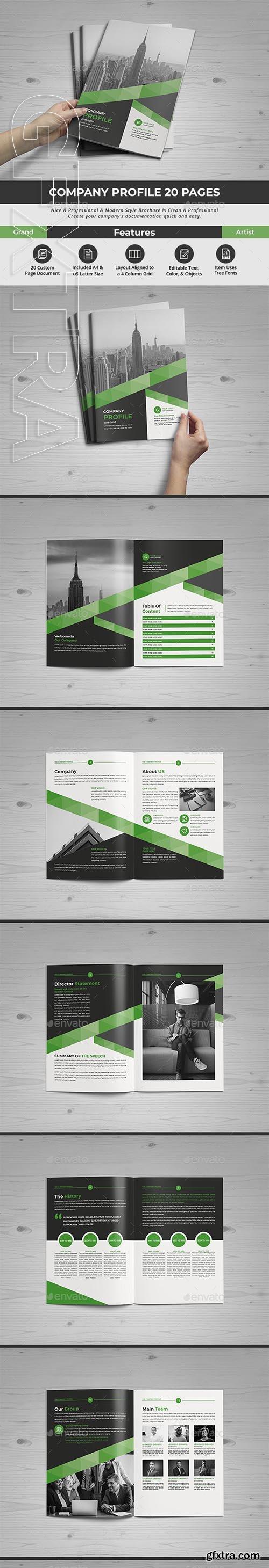 GraphicRiver - Company Profile 24671340