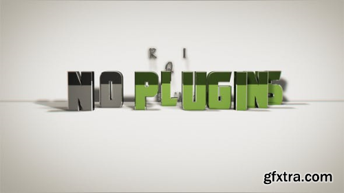 VideoHive 3D Text Opener 24760948