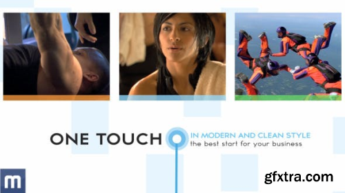 VideoHive One Touch Corporate Presentation 4148379