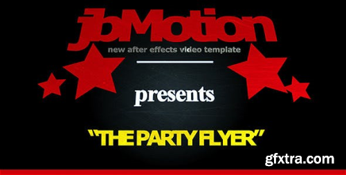 VideoHive The Party FlyerInvitation 662647