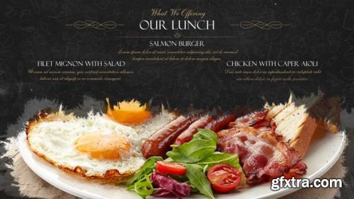 VideoHive Restaurant Dishes Presentation 2262219