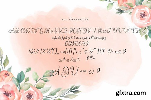 Quirtty A Luxury Script Font