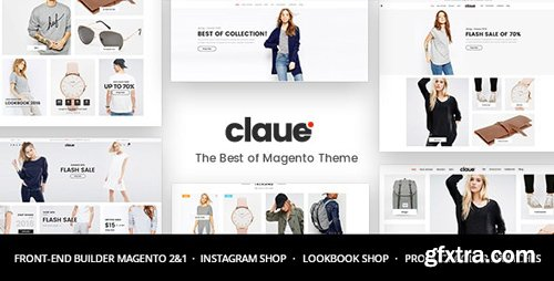 ThemeForest - Claue v1.8.4 - Clean, Minimal Magento 2 and 1 Theme - 20155150