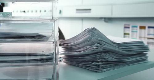 A Pile of Unsloved Documents - 6TCUBZ5