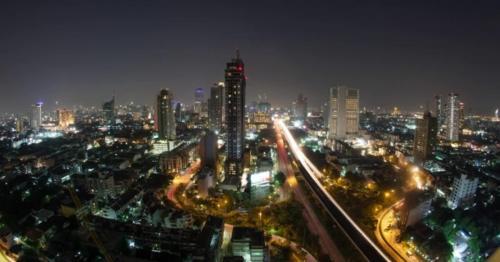 Bangkok Life At Night, Thailand - EXNLWQM