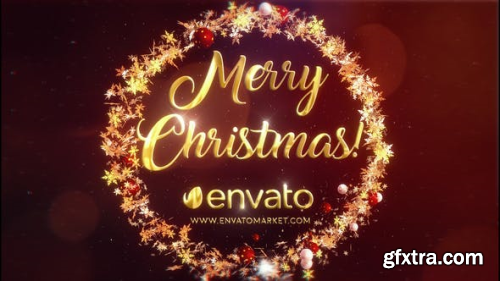 Videohive Christmas Star Logo III  | After Effects Template 22846383