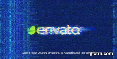 VideoHive Noise Glitch Logo 20800306