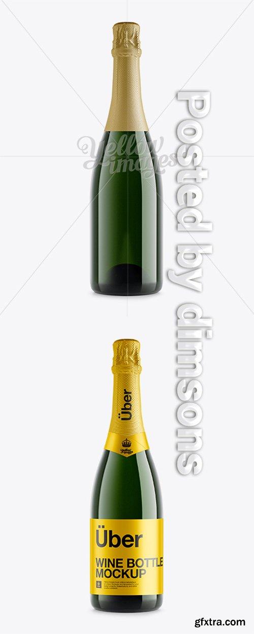 Champagne Bottle Mockup 10746