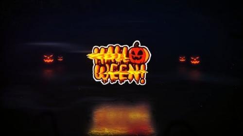Udemy - Halloween Glitch Logo