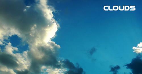 Clouds Time Lapse - D2QR3HF