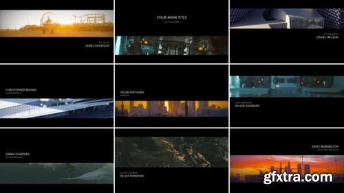 VideoHive Simple Titles Opener 13758254