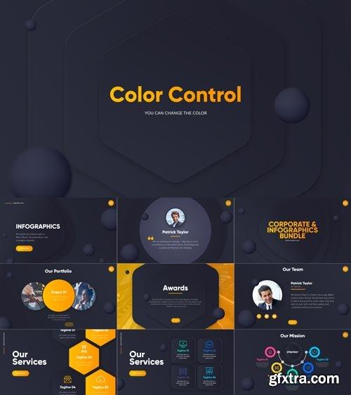 Videohive - Corporate Infographics Bundle - 21669208
