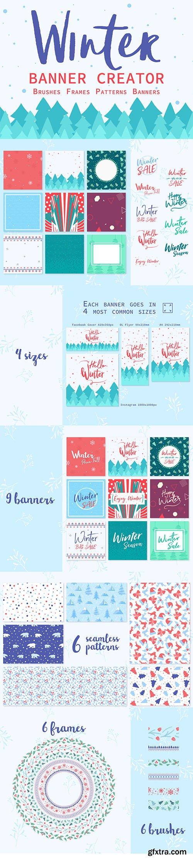 Winter Banner Creator