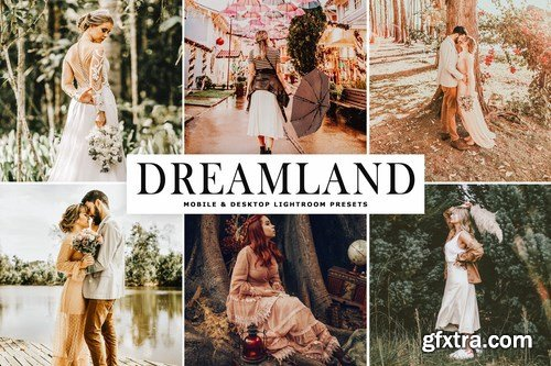 Dreamland Mobile & Desktop Lightroom Presets
