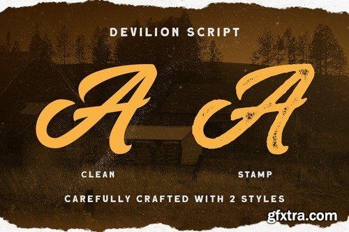 CM - Devilion - Hand Lettering Script 4183925