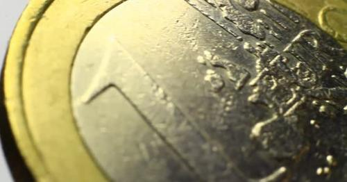 One Euro Coin - P46QYCH