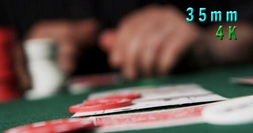 Placing A Bet With Poker Chips 04 - MTHP8Z5