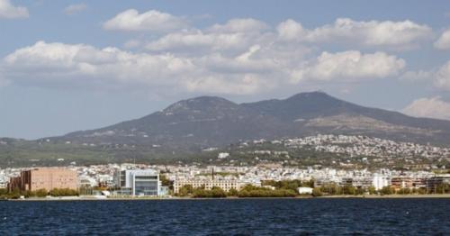 View Of Coastal City From Sailing Ship - 8MVSCWB