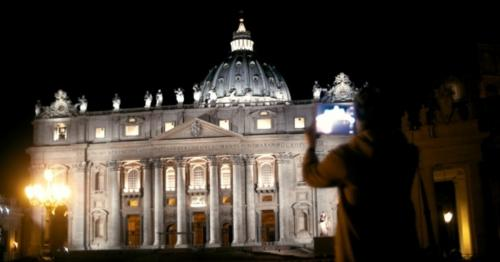 Woman Using Tablet PC To Capture St. Peters - 38R9APF