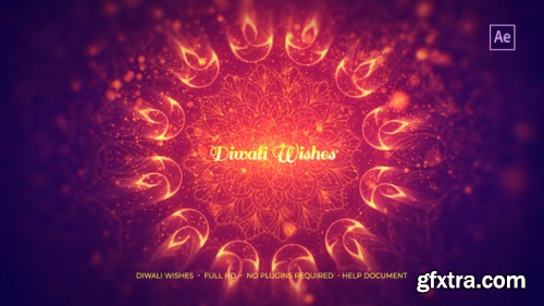 VideoHive Diwali Wishes 22799197
