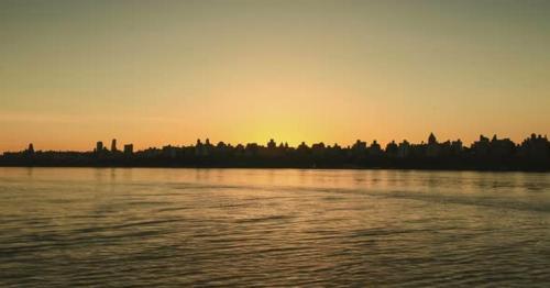 New York City Morning Sunrise B - Y3KSBZQ