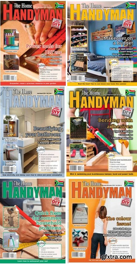 The Home Handyman - 2019 Full Year Issues Collection
