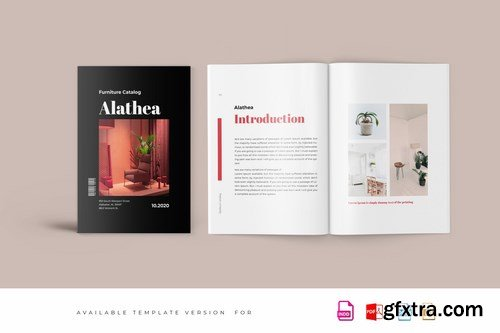 Alathea - Furniture Magazine Template