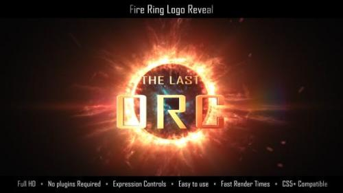 Udemy - Fire Ring Logo Reveal