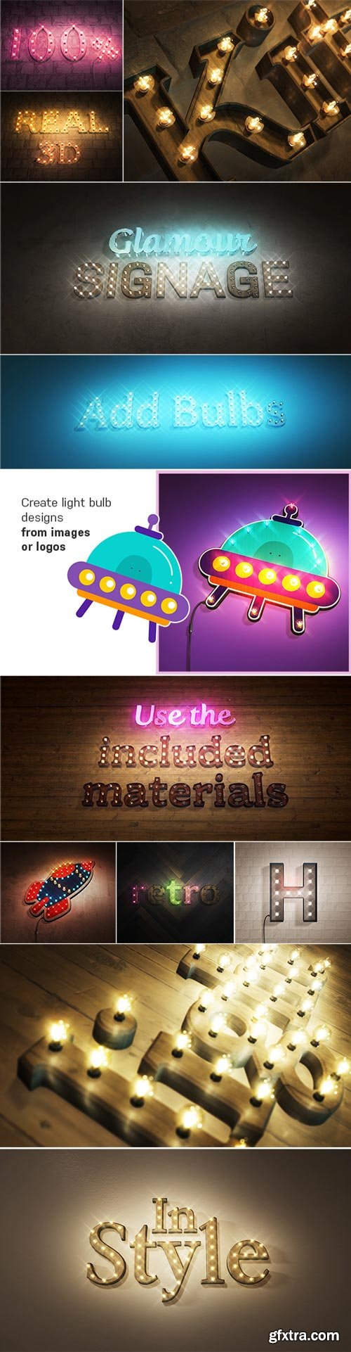 Videohive - Real 3D Light Bulb Kit - 24849744