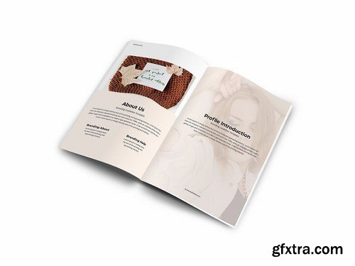Branding Guideline A4 Brochure Template