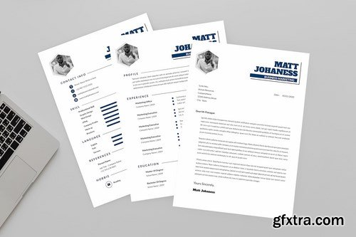 Business Marketing Resume Designer