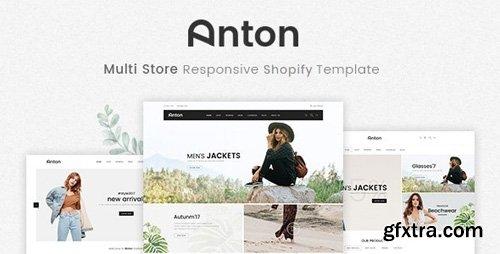 ThemeForest - Anton v1.0.0 - Multi Store Responsive Shopify Theme - 22149246