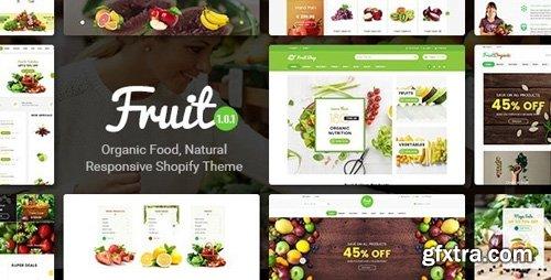 ThemeForest - Fruit Shop v1.0.1 - Organic Food, Natural Responsive Shopify Theme - 21294031