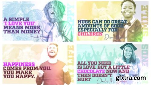 VideoHive Happy People - Quote Slideshow 24853803