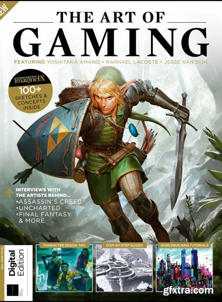 ImagineFX: The Art of Gaming - First Edition 2019