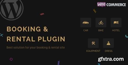 CodeCanyon - RnB v9.0.1 - WooCommerce Booking & Rental Plugin - 14835145