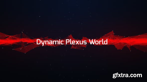 Videohive Dynamic Plexus World 12523473
