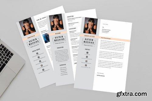 Make up Artist Resume Designer