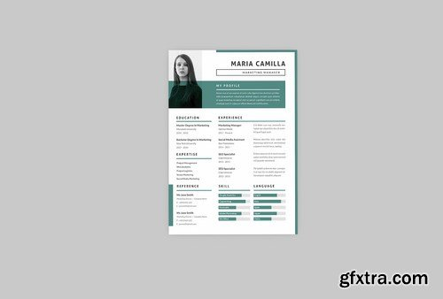 Maria Resume Designer