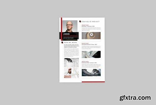 Architecture Resume Designer