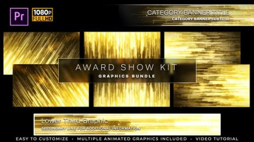 Udemy - Awards Show Kit   MOGRT for Premiere Pro