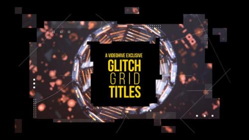 Udemy - Glitch Grid Titles