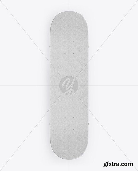 Skateboard Mockup - Top View 50307