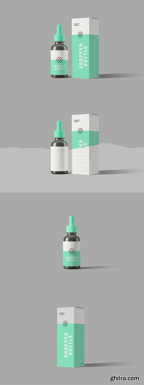 Dropper Bottle Mockups