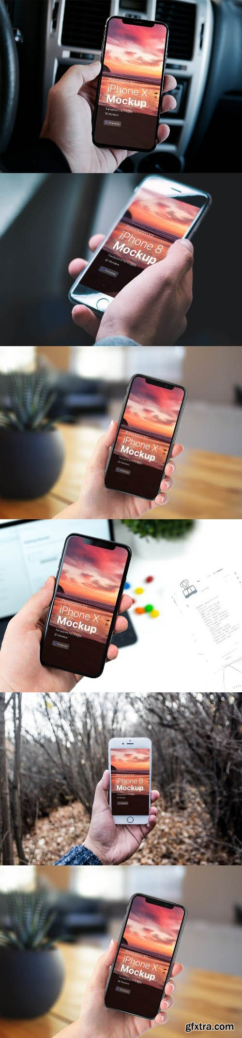 Presentation Kit - iPhone showcase Mockup 4