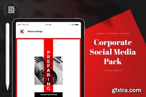 Corporate Banners Social Media Pack