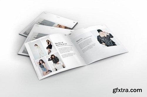 Fashion Lookbook Square Brochure