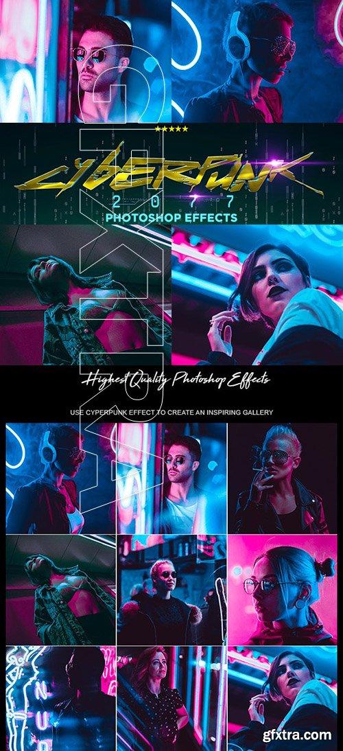 GraphicRiver - CyberPunk PRO Photoshop Actions 24685287
