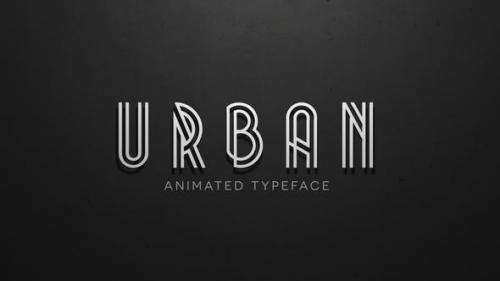 Udemy - Urban - Animated Typeface